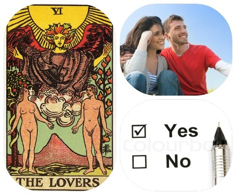 List of Yes / No Tarot Card Meanings for Love & Romance Questions | tarot Ideas | Scoop.it