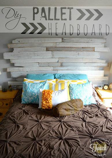 Forum | DIY: Pallets Headboard | DIY | Scoop.it