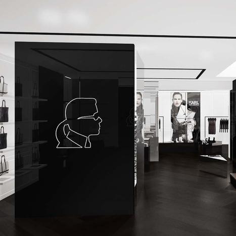 Karl Lagerfeld ouvre en mars son premier concept store à Paris - Mode - Plurielles.fr | Concept Stores | Scoop.it