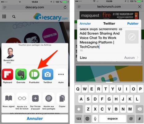 Pushbullet pour iPhone et iPad. Vous devez essayer cette application | mlearn | Scoop.it
