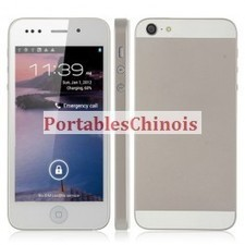 GsmChinois-Portables GsmAndroid Pas Cher Acheter Goophone i5 Pro(Hero H2000+) MTK6577 Dual Core 1.0Ghz Double SIM 3G Androide 4.0 ICS Gsm Chinois Boutique Magasin GsmChinois France Pas Cher | Boutique Gsm Chinois - Portables Chinois Pas Cher | Scoop.it