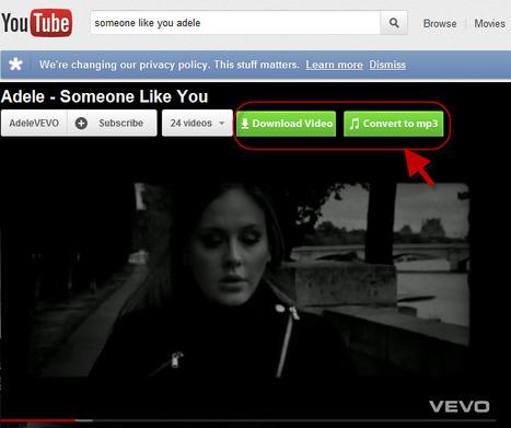 YouTube to MP3 Chrome | Randomness | Scoop.it