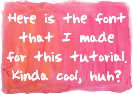 Turn Your Handwriting into a Font for Free - Make: ~ by Agnes Niewiadomski | Scriveners' Trappings | Scoop.it