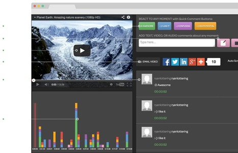 Comment Bubble - React to Video (Desktop v1.0) | Technology in Education | Scoop.it