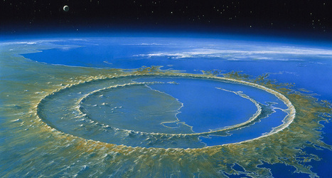 How a ring of mountains forms inside a crater | Year 7 Science - interesting articles | Scoop.it