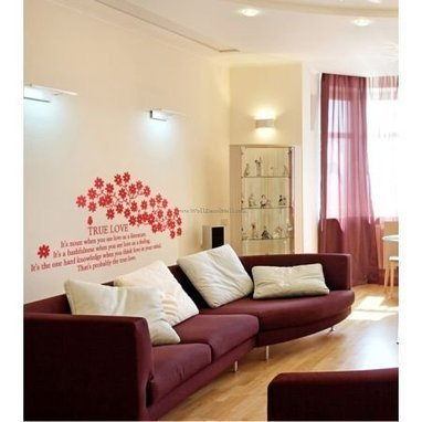 The True Love Flower Wall Decals – WallDecalMall.com | Flower Wall Decals | Scoop.it