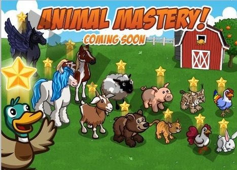 FarmVille Sneak Peek: Animal Mastery coming soon, say goodbye to your free time - Games.com News (blog) | Get Down On The Farm With Facebook and FARMVILLE | Scoop.it