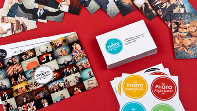 Business card design inspiration | moo.com | employee communications | Scoop.it