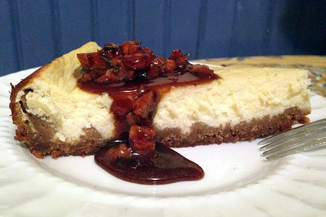 Greek yogurt 'cheesecake' with honey-walnut topping - Christian Science Monitor | Greek food | Scoop.it