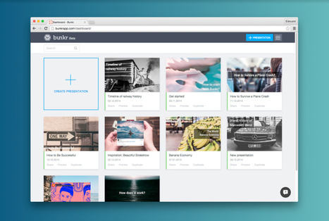 Bunkr Is Now The Definitive PowerPoint Alternative Designed For TheWeb | Serious Play | Scoop.it