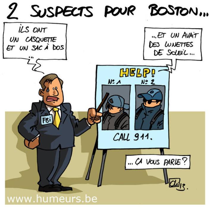 Attentat de Boston : la police recherche 2 suspects ! | Baie d'humour | Scoop.it