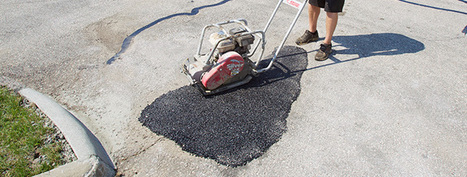 CR4 - Thread: Concrete to Fill Holes in Asphalt | Engineering Services | Scoop.it