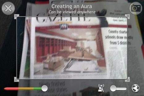 How to Use Aurasma Lite (Awesome Augmented Reality). Free | Rick Davidson Education | Scoop.it