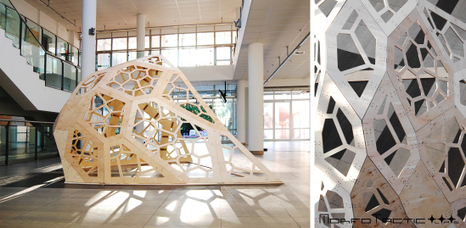 Voronoi Cupola Pavilion update | parametric design | Scoop.it