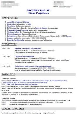 """Analyse de CV """"Documentaliste scientifique"""", avec Sarah - Pole Documentation   Préparation aux concours   Scoop.it"""