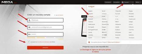 Comment avoir 50Go de stockage gratuit sur MEGA ! | Easytutoriel.com | Les outils d'HG Sempai | Scoop.it