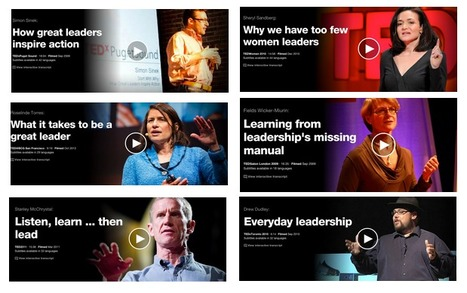 Some Amazing TED Talks on How to Be A Leader - EdTech & MLearning | New Leadership | Scoop.it