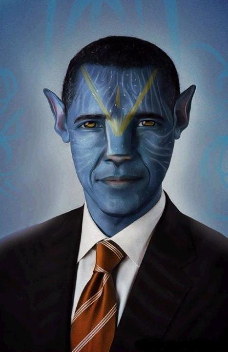 Interesting Blue Avatars of Famous Celebrities   Digital Delights - Avatars, Virtual Worlds, Gamification   Scoop.it