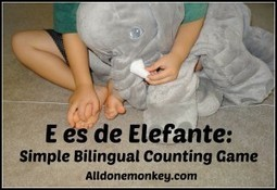 Spanish Songs for Kids – E es de Elefante | Preschool Spanish | Scoop.it
