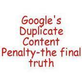 Responses and Reviews: Duplicate content and AdSense, new insight from Google. | Internet Marketing Methods | Scoop.it