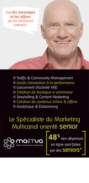 Visez les seniors online ! | Agence Communication multispécialiste ... | Seniors | Scoop.it