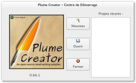 La vache libre : Plume Creator – Un soft pour les écrivains en herbe ou confirmés | Actualités de l'open source | Scoop.it