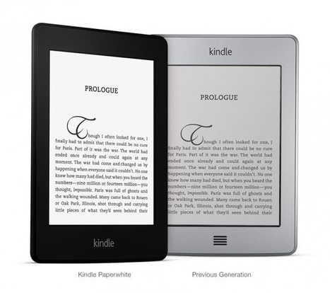 Why e-readers evolved a lot today: Kindle Paperwhite and Kobo Glo | Edition numérique | Scoop.it