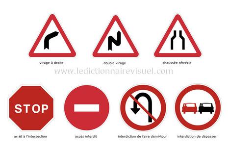 TICs en FLE: La route : vocabulaire , signalisation routière , sécurité routière | fleenligne | Scoop.it