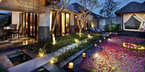 Romantic Swimming Pool with Cool Floor Lighting Ideas | News Info | Scoop.it