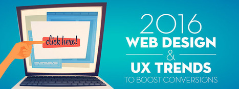 Design and UX Trends to Boost Conversions [INFOGRAPHIC] | inbound marketing | Scoop.it