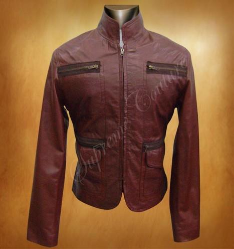 Kim cummings 88 minutes Leather Jacket - Women Jackets | WOMEN JACKETS | Scoop.it