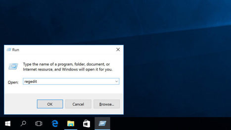 Windows 10 Insider ajoute enfin une barre d'adresse à l'éditeur de registre | Geeks | Scoop.it
