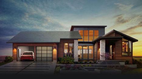 Tesla Unveils Beautifully Camouflaged Solar Powered Shingles | Le It e Amo ✪ | Scoop.it