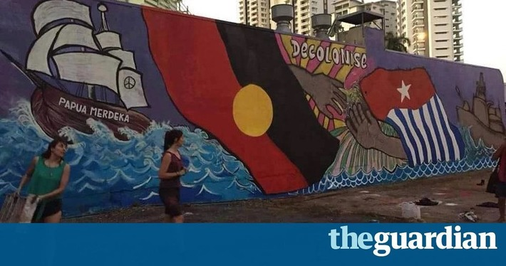 Indonesian consul says he's unaware of 'pressure' to paint over West Papua mural | The Guardian | Océanie | Scoop.it