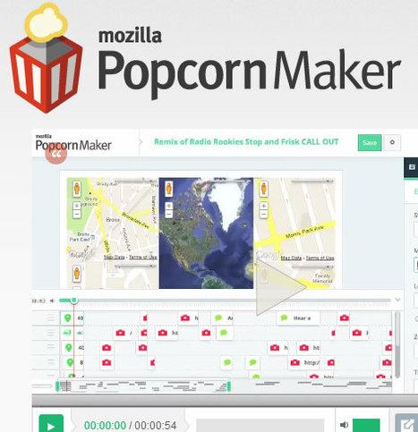 Popcorn Maker: Agrega texto, mapas interactivos a tus videos e insértalos en la Web | Herramientas, aplicaciones | Scoop.it