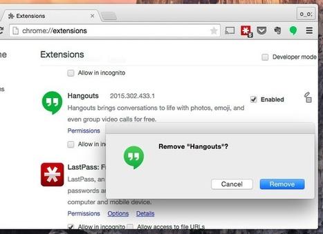 Comment faire Google Chrome Utilisez Moins vie de la batterie, mémoire et CPU   Journaliste, web, réseaux sociaux   Scoop.it