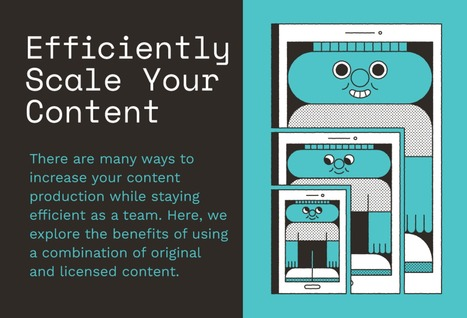 INFOGRAPHIC: How to Efficiently Scale Your Content | Museums and emerging technologies | Scoop.it