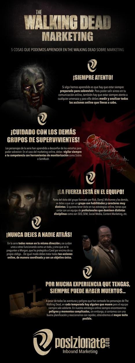 The Walking Dead Marketing #infografia #infographic #marketing - GjavierMartinC.com | Para emprender | Scoop.it