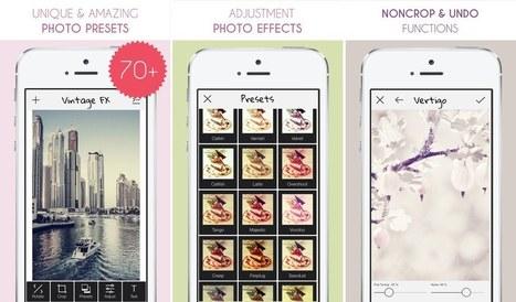 Hoy GRATIS, dos interesantes app para la edición fotográfica | Educacion, ecologia y TIC | Scoop.it