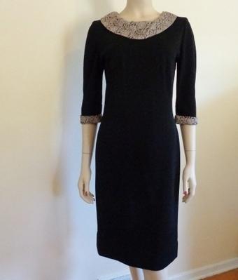 Jackie O Dress Vintage 1960's Black Knit Mad Men | Vintage Passion | Scoop.it