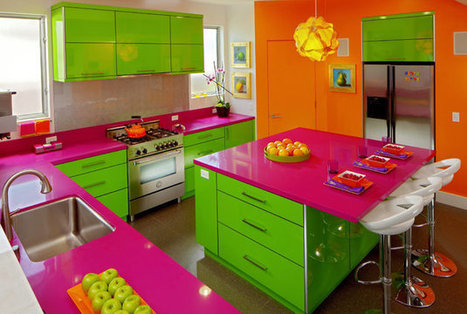 Cooking in color: Crayola-bright kitchens buck white standard - Minneapolis Star Tribune | Color For Your Home | Scoop.it