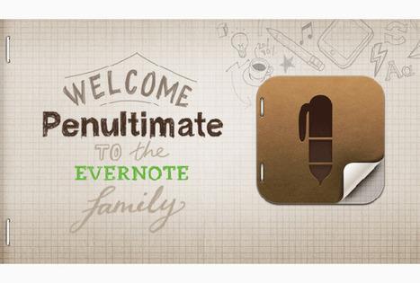 Evernote Acquires iPad Handwriting App Penultimate - RedOrbit | Gadget Shopper and Consumer Report | Scoop.it