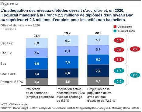 L'emploi en France en 2020 : que faire face à la pénurie annoncée ... | Portfolio numerique | Scoop.it