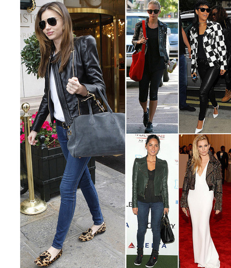 Womens Leather Jacket! The Blossom of TV Seasons | leather Craze | Scoop.it