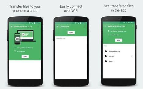 Portal: envía de forma rápida archivos pesados del PC al smartphone | Educacion, ecologia y TIC | Scoop.it