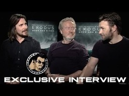 Christian Bale, Ridley Scott, and Joel Edgerton Interview - Exodus: Gods and Kings (HD) 2014 - http://goo.gl/KHCGcn | Entretemps | Scoop.it