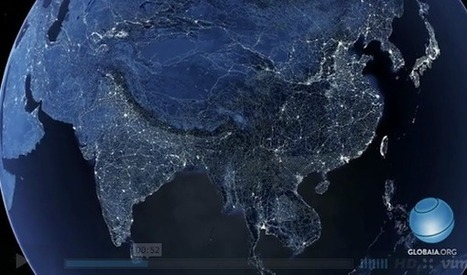 Mesmerizing Visualization Maps Every Transportation Route on Earth [VIDEO] | Tracking Transmedia | Scoop.it