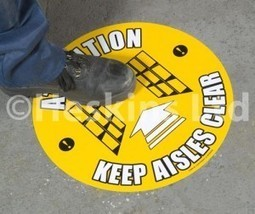 Heskins Floor Markers & Safety Signs - Heskins Ltd | Heskins Ltd - Anti Slip Tape Manufacturers | Scoop.it