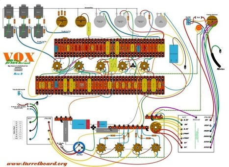 JMI era VOX AC30/6 - circa 1964 replica layout   DIY Music & electronics   Scoop.it