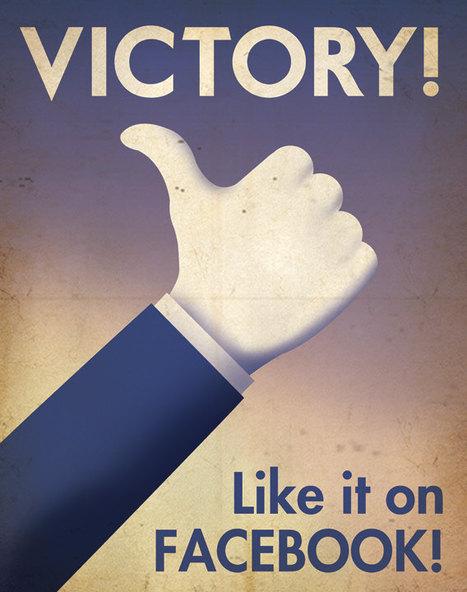 Social Media Propaganda Posters | All Geeks | Scoop.it